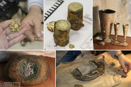 В Пскове нашли клад купца Плюшкина