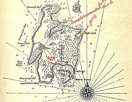 """Карта """"Острова сокровищ"""""""