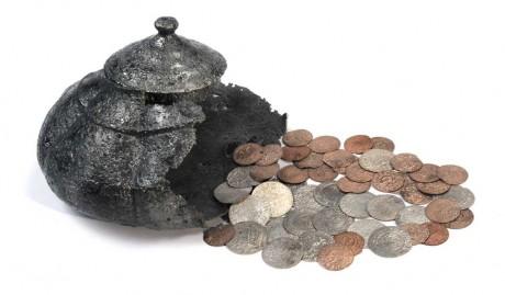 Клад найденный в Валмиеровском районе в 1885 году