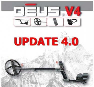 Финальная версия 4.0 ПО прошивки для XP Deus