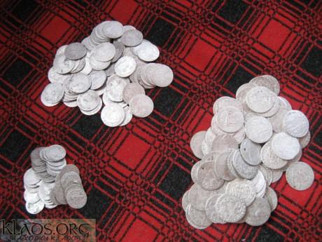 клад серебра по XVII веку периода ВКЛ и РП