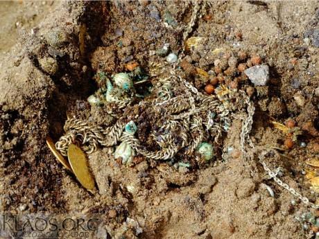 Клад золотых монет и украшений найден в Польше