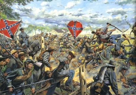 В Америки начат поиск спрятанных в Гражданскую войну клада с золотыми слитками