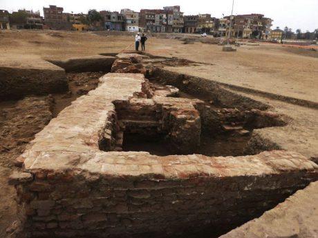 Монеты и другие сокровища были обнаружены в руинах римских бань в Танисе