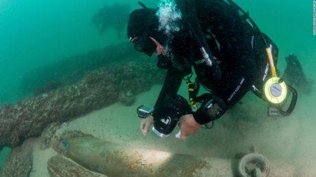 Археологи нашли ценный груз торгового судна, затонувшего 400 лет назад
