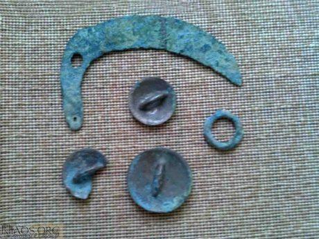 Комплексный клад бронзоваго века